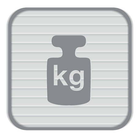 gram: weight icon, symbol denoting a measure of weight