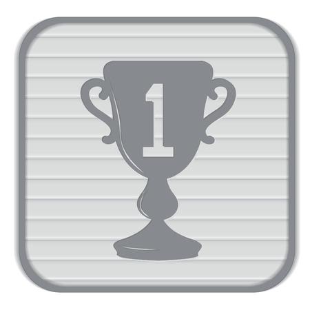 primer lugar: taza para el primer lugar icono