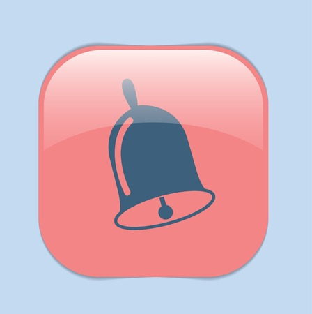 Bell. First call. A symbol of the school. Beginning of the school Illustration