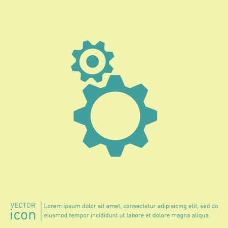 cogwheel: symbol settings. cogwheel, icon setting and repair