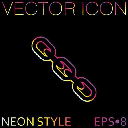 links: Links, chain icon Illustration