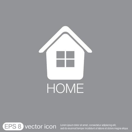 apprentice: House icon. Home sign