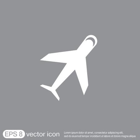 airplane icon: airplane symbol . icon of air travel