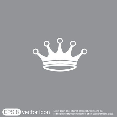 crown icon Illustration