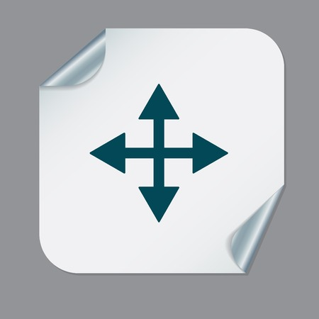 icons site search: move arrows sign