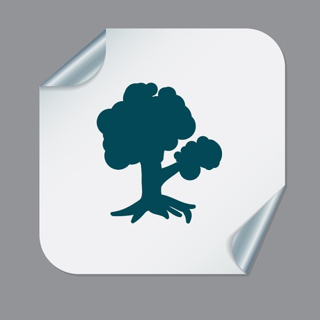 baum symbol: Baum-Symbol Symbol. Natur Zeichen