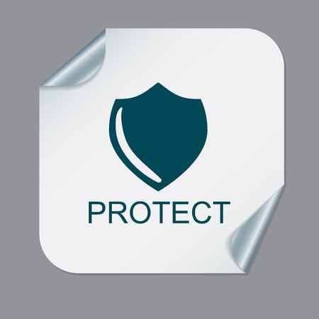 safe guard: shield, a symbol of protection. shield Illustration