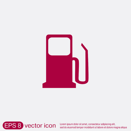Gas Station Symbol Gas Station Gasoline And Fuel Royalty Free