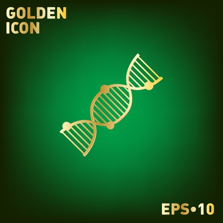 helix: DNA helix icon. Medical Research character. Symbol of medicine. Icon Biology and Genetics