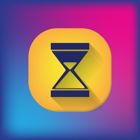 expectations: hourglass waiting, icon expectations