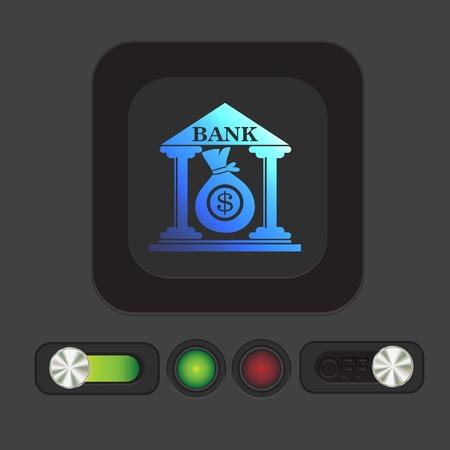 building: bank building.