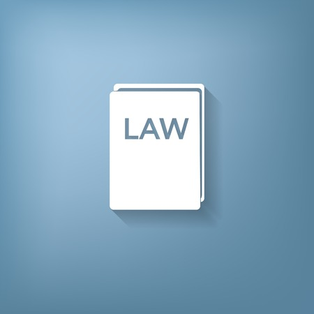 law books: law book icon. set of laws. symbol of justice