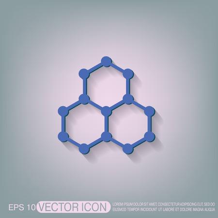 quimica organica: Compuesto qu�mico. Qu�mica S�mbolo. Ciencia Icono