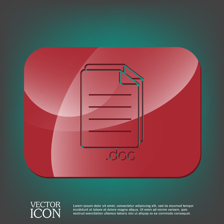 paper sheet: document icon paper sheet