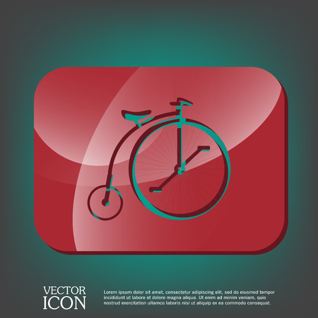 spoke: retro bicycle icon