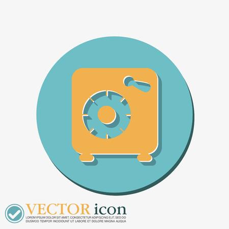 Bank Vault Vector