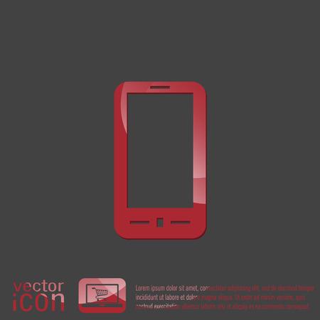 smartphone: smartphone sign Illustration