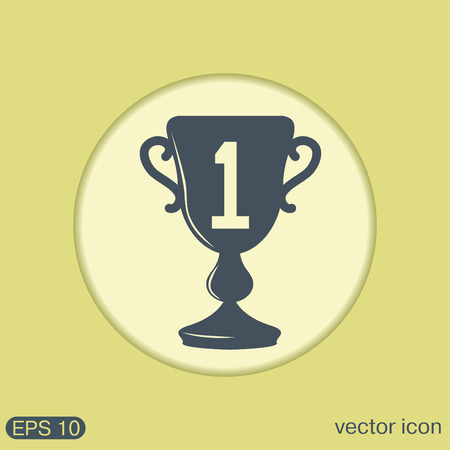 first place: cup for first place icon