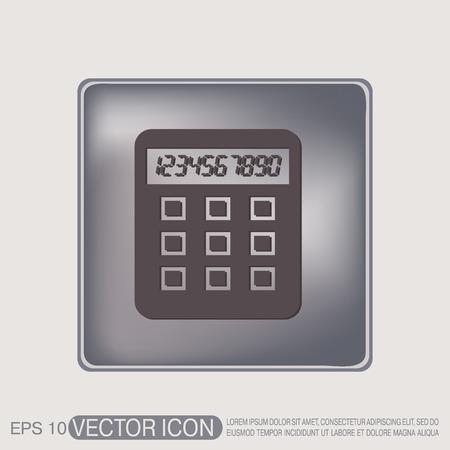 calc: calculator. office sign