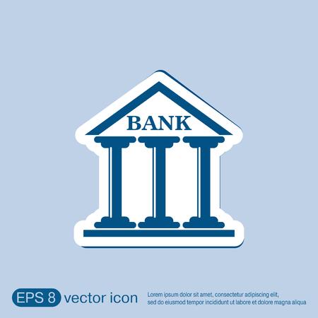 edificio banco: bank building.