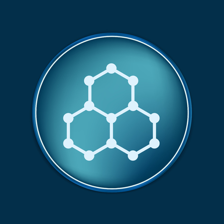 compound: Chemical compound. Symbol chemistry. Icon science