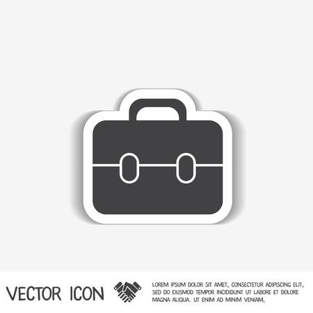 briefcase: briefcase symbol Illustration