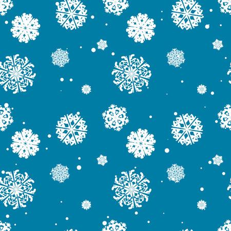copo de nieve: Patrón de copo de nieve. Copo de nieve del vector textura. Navidad y año nuevo concepto