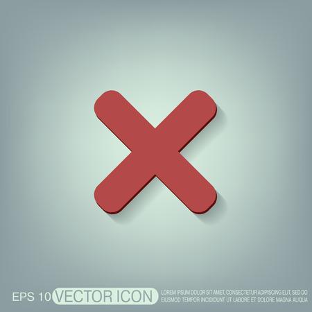 erase: erase character sign.