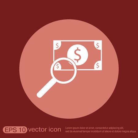 dollar bill: Dollar bill. symbol of money