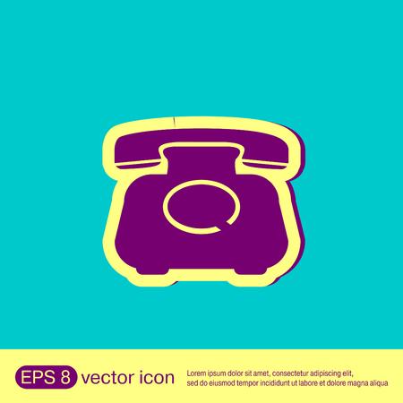 retro: classic retro phone