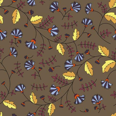 fiordaliso: Modello Fiordaliso. Vector seamless texture
