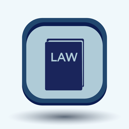 legislation: law book icon. set of laws. symbol of justice