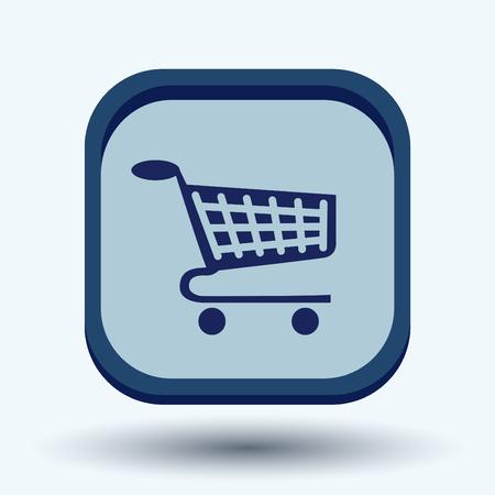 retailers: shopping cart icon. vextor illustration. cart online store, Internet shop. basket shopping