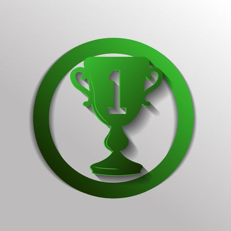 first place: taza para el primer lugar icono
