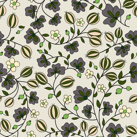 drupe: gooseberry seamless texture. vector pattern. seamless texture fills
