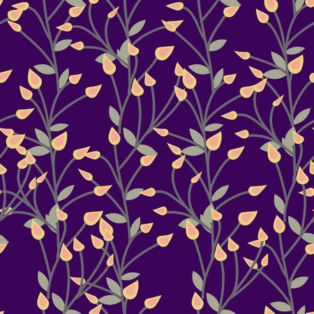 desktop wallpaper: Floral vector pattern. Seamless doodle texture with flowers. Use as desktop wallpaper or surface textures, web page background, textile and other.