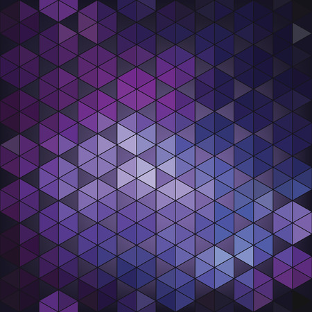 Geometric vector hexagon abstract background. Ilustracja