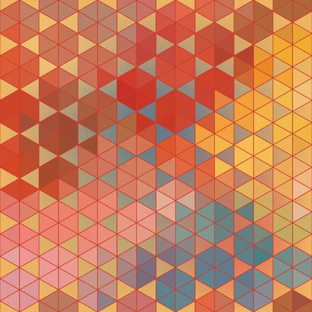 Geometric vector hexagon abstract background. Illustration