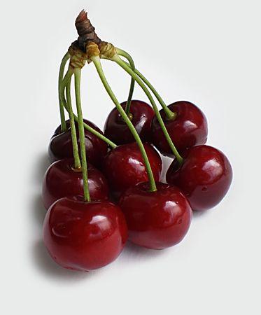 eight cherries       Stok Fotoğraf