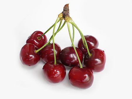 eight cherries               Stock Photo - 3094046
