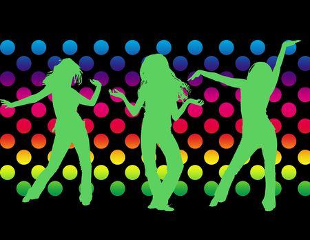 dancing girls photo