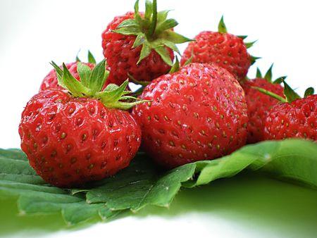 strawberries      Stok Fotoğraf