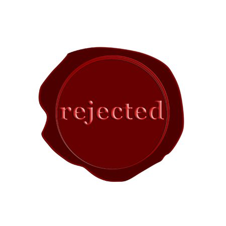 stamp rejected Stock Photo - 3212541