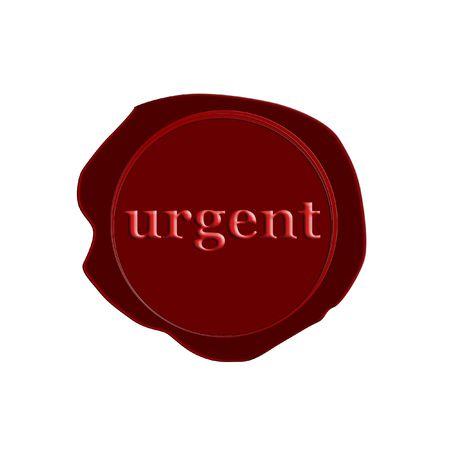 stamp urgent Stock Photo - 3212495