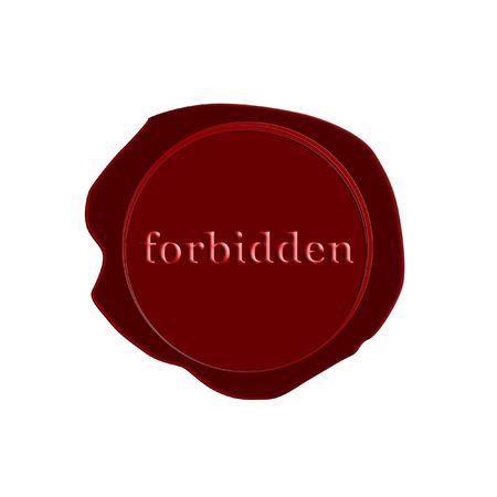 stamp forbidden photo