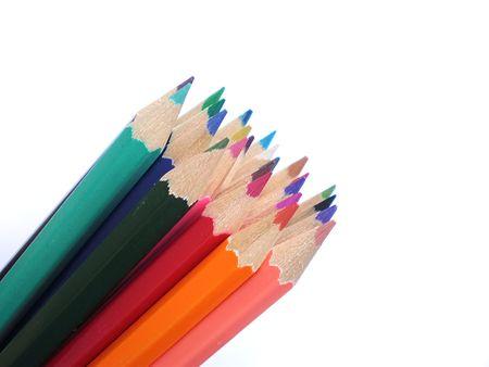 colorful pencils  photo