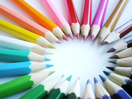 colorful pencils Stock Photo - 3417289
