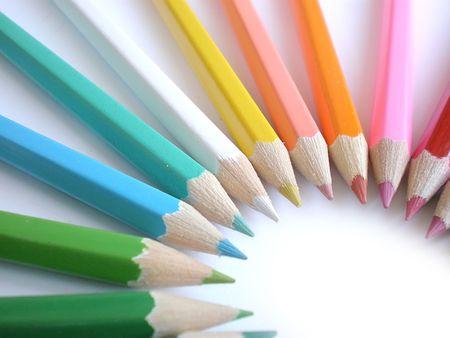 colorful pencils Stok Fotoğraf - 3417259