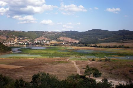 landscape in Bulgaria     photo
