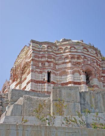 ancient city Nessebar Bulgaria photo
